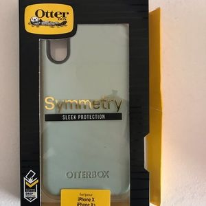 iPhone X otter box Symmetry Case